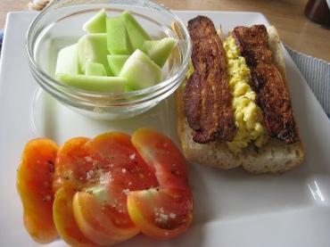 Breakfast, deconstructed.