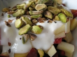 Pink Lady Apple, Whole Milk Yogurt and Pistachio