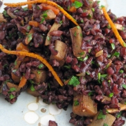 Black Japonica Rice Salad