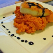 Healthy and easy to make. It's time for some orange and black.