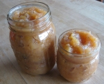 Jars of apple and pear butter. YUM!