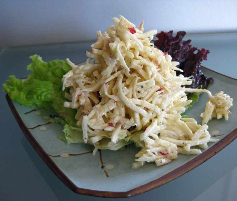 Toss out the coleslaw and try jicama and celeriac rémoulade.