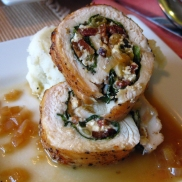 Part II of our chicken involtini series.
