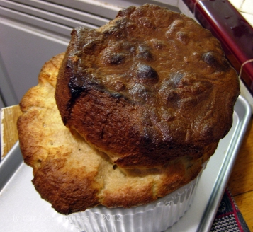 A UK Soufflé made with Guinness.