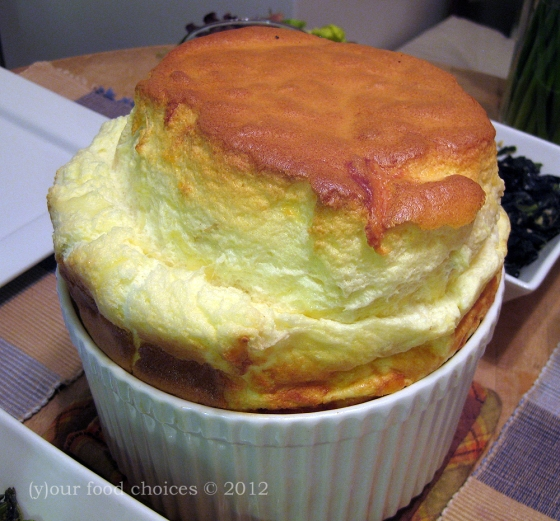 The Cheese Soufflé.