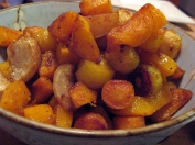 Roasted Carrots, Turnips, and Butternut Squash