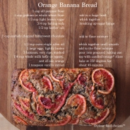 Orange Banana Bread