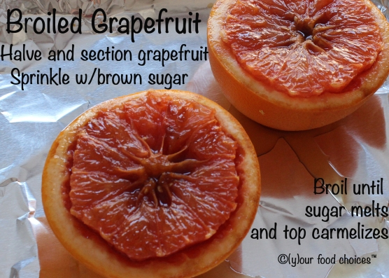 Broiled Grapefruit