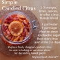 Simple Candied Citrus